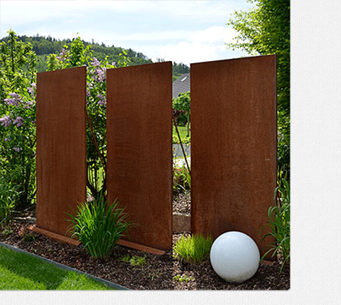 Matern bastert metallbautechnik for Gartenobjekte aus metall